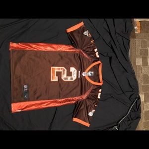 Nike Johnny football stitched youth size m Jersey